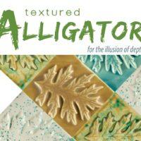 Textured Alligator (LT) Aardewerk